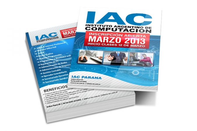 Folleto IAC 2013