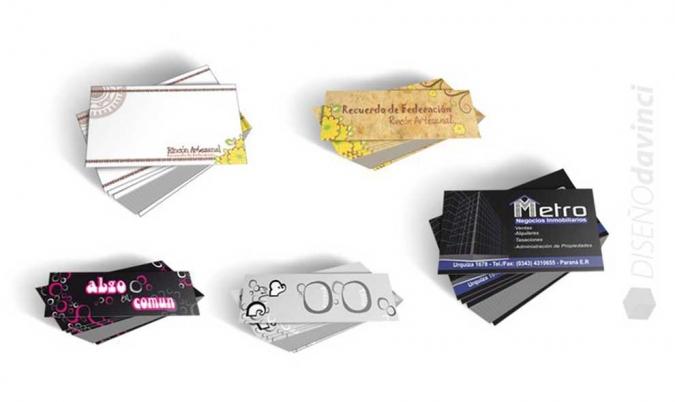 Varios   Tarjetas personales, Media tarjeta, stickers