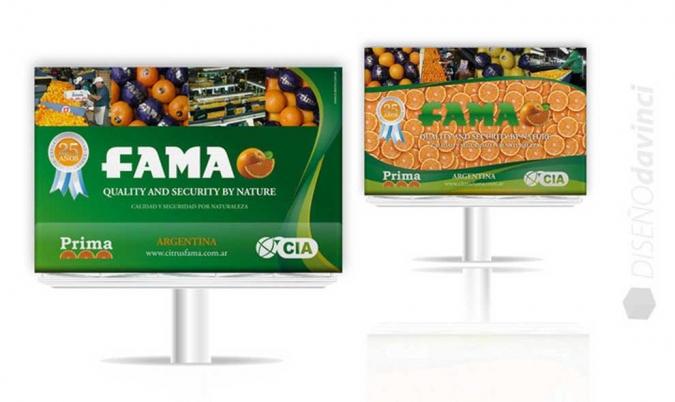 FAMA S.A. | Diseño de banners publicitarios